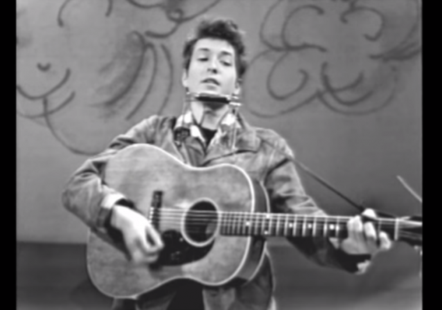 bob dylan blowin in the wind Was the bob dylan song 'blowin' in the wind' actually written by a new jersey high school student.