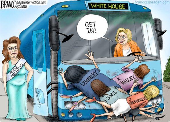 Hillary and Machado