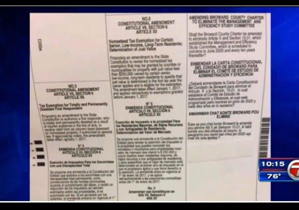 florida medical marijuana missing ballot
