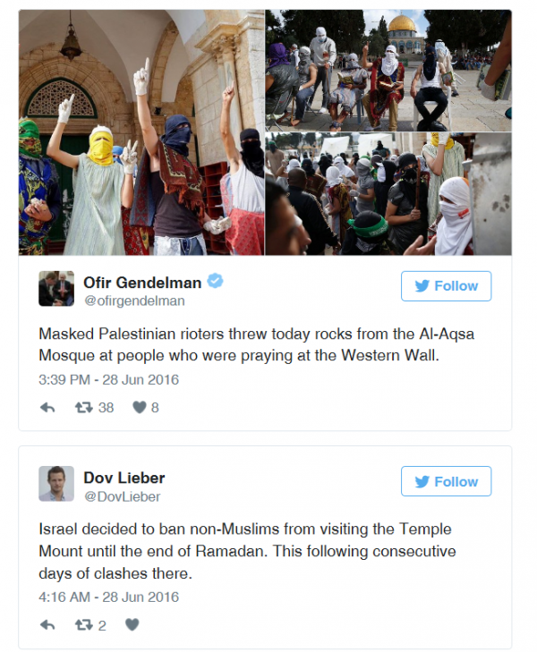 masked-palestinians-throw-stones-al-aqsa