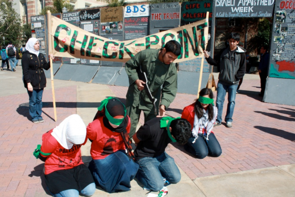 ... that pro-Israel students find them offensive, hurtful, and demeaning