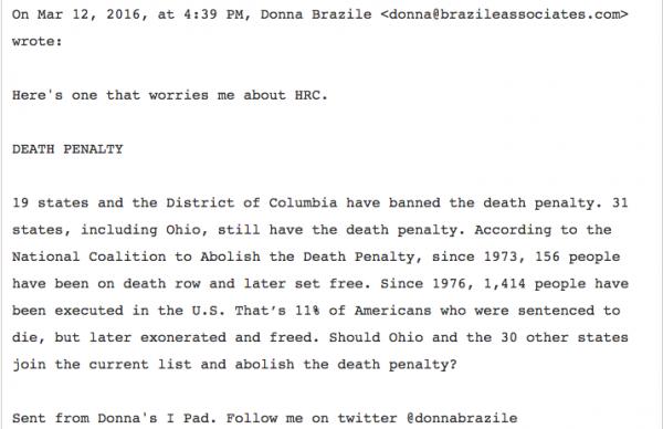 Hillary Podesta Brazile Townhall