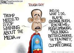 Obama Trump Whining