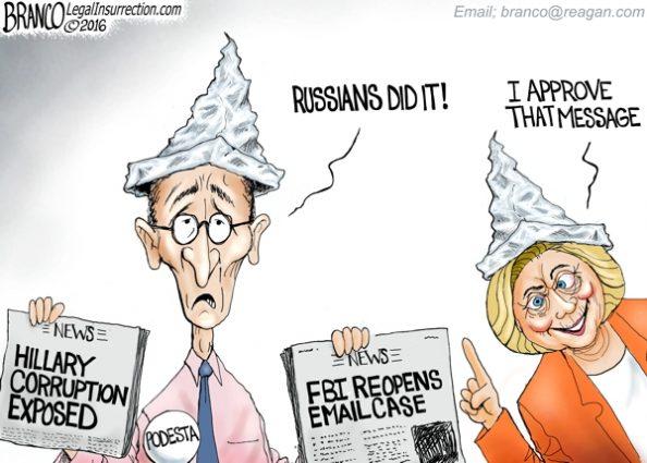 Podesta Blames Russians