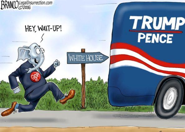 GOPe Chasing Trump