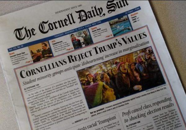 cornell-sun-trump-victory-front-page-11-10-2016