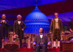 donald trump hall of presidents disney