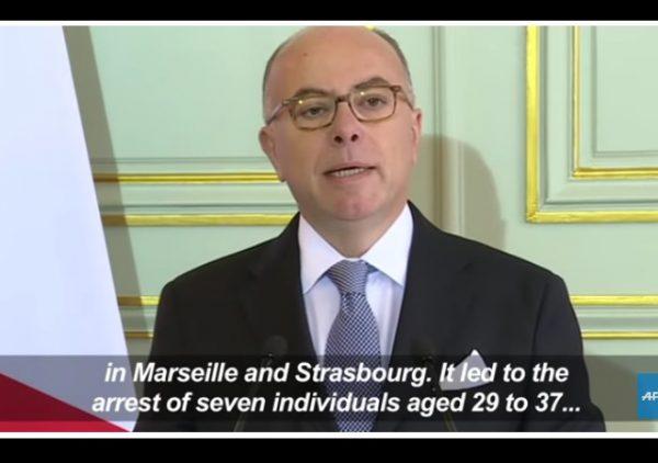france arrests seven terrorists