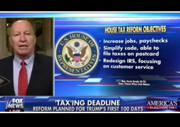 house tax reform
