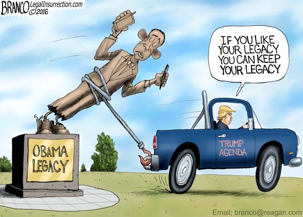 Trump Obama Legacy
