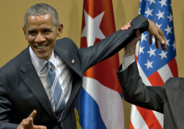 http://www.npr.org/sections/thetwo-way/2016/03/21/471337729/obama-and-castro-share-an-awkward-handshake-in-cuba-after-historic-meeting