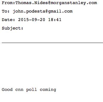 Wikileaks CNN Poll