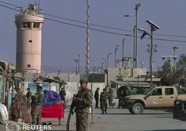 taliban attacks military base