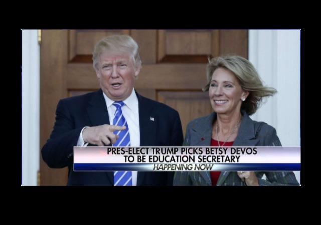sections trump chooses betsy devos education secretary