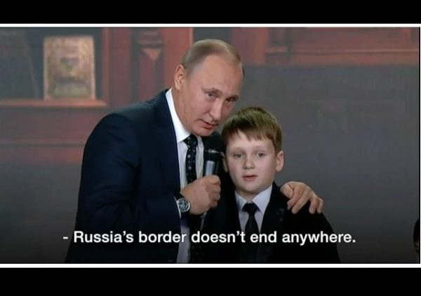 vladimir putin russia borders