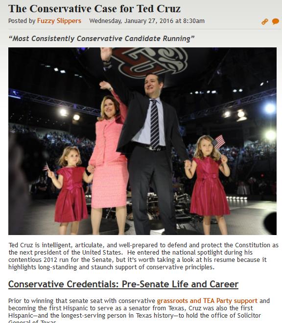 http://legalinsurrection.com/2016/01/the-conservative-case-for-ted-cruz/