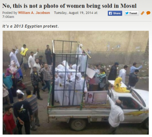 http://legalinsurrection.com/2014/08/no-this-is-not-a-photo-of-women-being-sold-in-mosul/