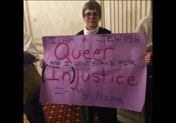 Chicago LGBTQ Protest Jewish queer