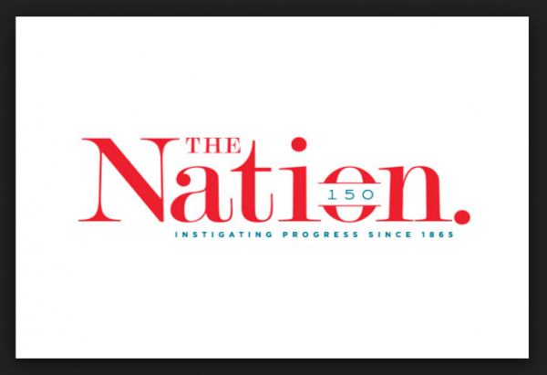 The Nation magazine Logo 150 years