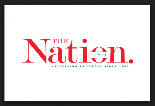 The Nation magazine Logo 150 years