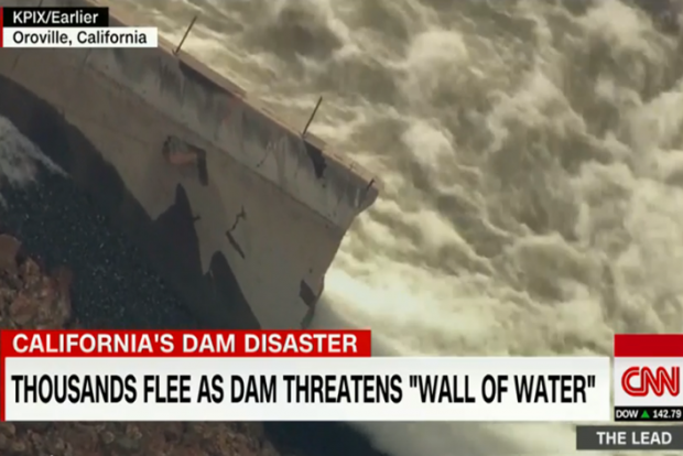 California's Oroville Dam Emergency Continues
