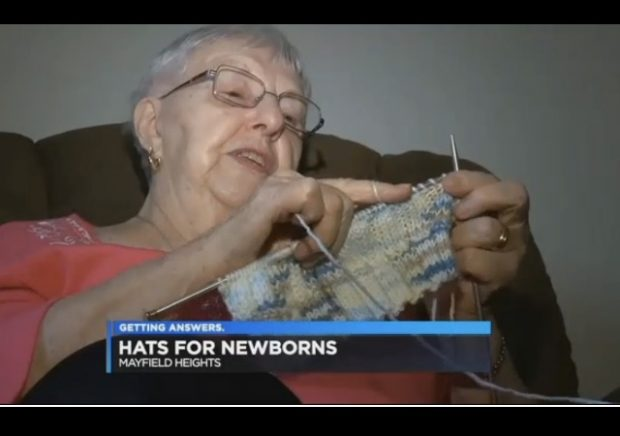 http://www.cleveland19.com/story/34846575/90-year-old-great-grandmother-knits-free-hats-for-newborns-at