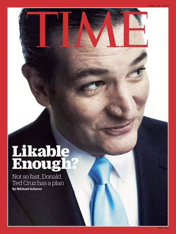 Time Magazine Cover Ted Cruz Likable Enough