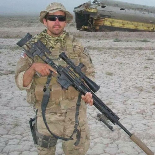 Christopher Horton Afghanistan w Rifle