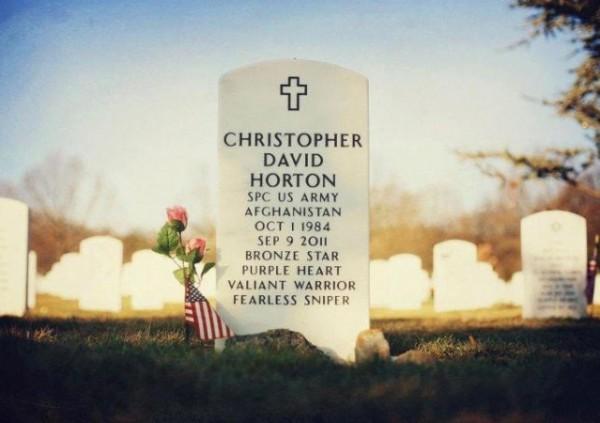 Christopher Horton Tombstone