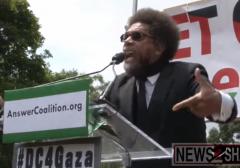 Cornel West Gaza Rally 2014