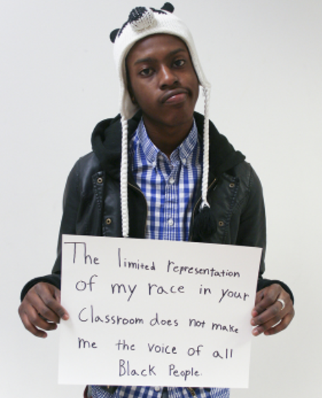 Microaggression Limited Representation Black People