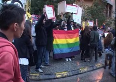 Lebanon LGBT Protest