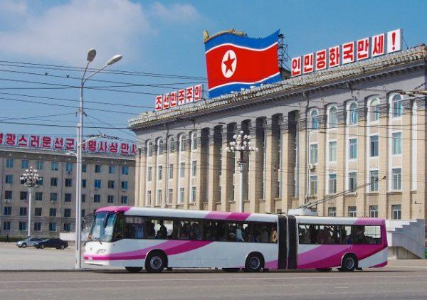 https://commons.wikimedia.org/wiki/File:Pyongyang_Trolly_Buses_(11418780435).jpg
