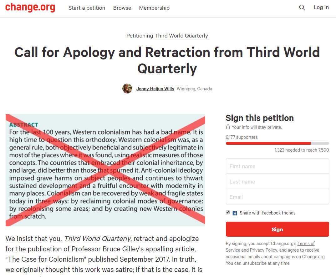 https://www.change.org/p/third-world-quarterly-call-for-apology-and-retraction-from-third-world-quarterly