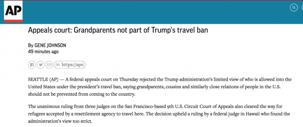 https://apnews.com/4711740311614eb69237c5b9ef989abc/Appeals-court:-Grandparents-not-part-of-Trump's-travel-ban?utm_campaign=SocialFlow&utm_source=Twitter&utm_medium=AP