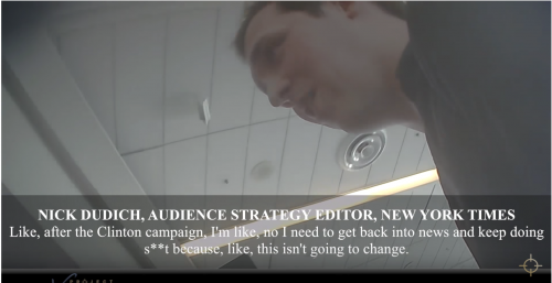 Project Veritas Releases New Undercover Video