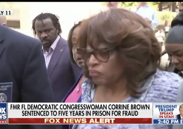 http://www.foxnews.com/politics/2017/12/04/ex-florida-democratic-rep-corrine-brown-sentenced-for-mail-wire-and-tax-fraud-involving-sham-charity.html