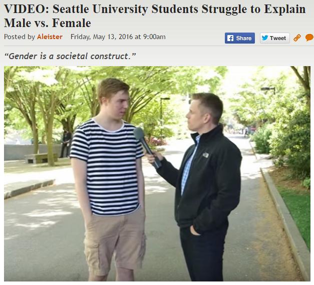 http://legalinsurrection.com/2016/05/video-seattle-university-students-struggle-to-explain-male-vs-female/
