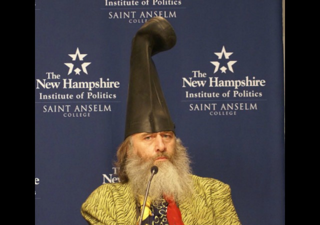 763e395da4e Vermin Supreme Allowed to Bring Ponies to Hillary Event - Long Room
