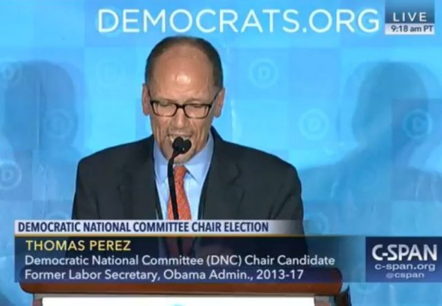 Tom Perez and DNC at War With State Democratic Parties ...