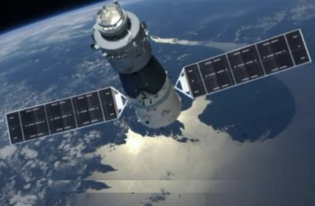 will the outofcontrol chinese space station crash into