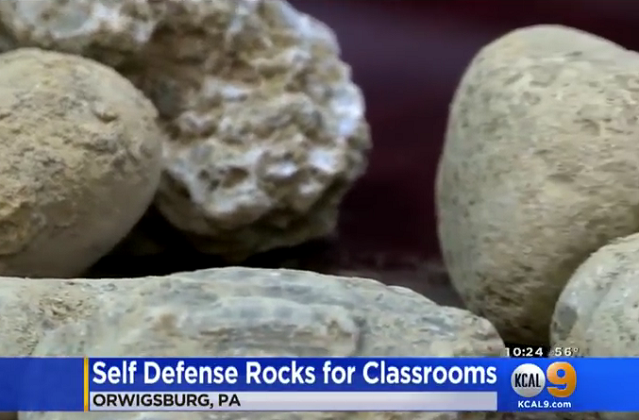 """arming teachers and students for protection """"it matters because it will help protect the schools, anything helps, rocks  helsel  says the district has no plans to arm teachers, however, blue."""