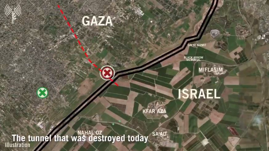 Israel Destroys Longest And Deepest Hamas Cross Border