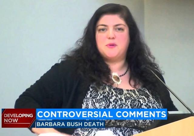 Fresno State Prof Blames Racism for Backlash After Barbara Bush Comments