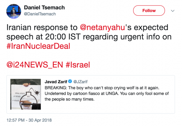 Netanyahu Ramps Up His Anti-Iran Fearmongering