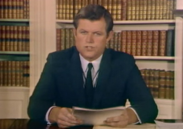 Flashback: Watch Ted Kennedy's 1969 Statement About ...