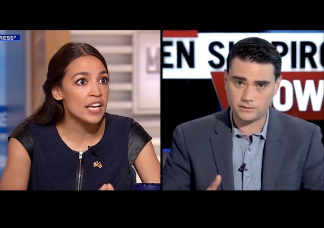 Ocasio-Cortez: Ben Shapiro offering to debate me is like men catcalling women on the street