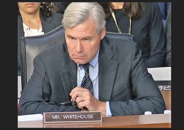 Judicial Watch Files Complaint Against RI Sen  Whitehouse