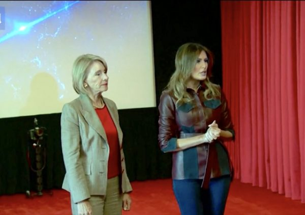 https://www.dailymail.co.uk/video/news/video-1788682/Video-Melania-Trump-invites-students-watch-anti-bullying-film.html