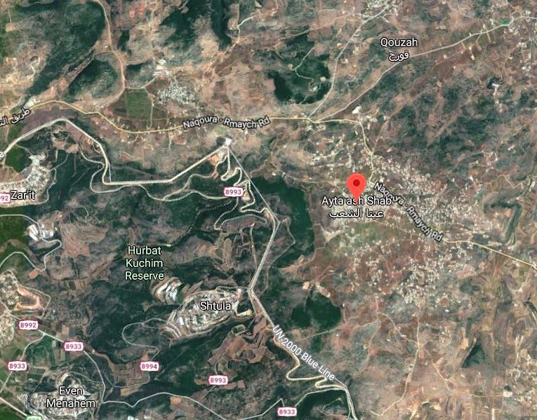 https://www.google.com/maps/place/Ayta+ash+Shab,+Lebanon/@33.0906351,35.315029,6052m/data=!3m1!1e3!4m5!3m4!1s0x151c29ba0940538f:0x46d1ca6682022402!8m2!3d33.0975932!4d35.3353853